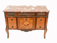 Scandinavian Commode Marquetry Chest of Drawers c.1920 (3 of 15)