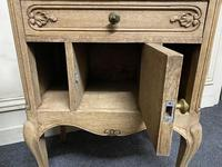 Pair of Bleached Oak Bedside Cabinets (7 of 15)
