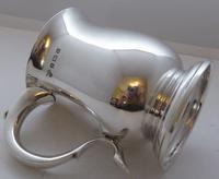 1934 Hallmarked Solid Silver 1/2 Pint Tankard Christening Mug Selfridge & Co (7 of 10)