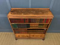 Oak Open Bookcase c.1920 (3 of 12)