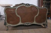 Art Nouveau Style French Caned / Bergere King Size Bed (4 of 9)