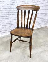 Matched Set of 6 Windsor Slatback Kitchen Chairs (6 of 8)