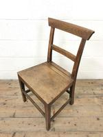 Selection of Six 19th Century Welsh Oak Farmhouse Kitchen Chairs (5 of 10)