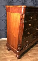 Victorian Mahogany Chest of Drawers (6 of 12)