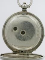 Thomas Russell Silver Open Face Pocket Watch  Swiss 1900 (4 of 6)