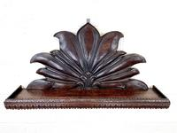 Victorian Carved Oak Wall Hanging Shelf (2 of 7)