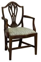 Pair of Georgian Carver Dining Chairs (2 of 7)
