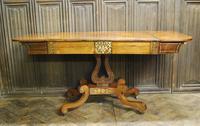 Regency Rosewood Sofa Table (3 of 9)