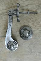 Genuine Victorian Aesthetic Movement  Cast Iron Door Knocker Registered Number for 1887 (5 of 7)