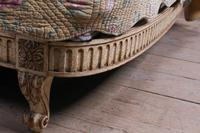 French Newly Upholstered Bow End King Size Bed (5 of 8)