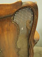Pair of Queen Anne Style Walnut Armchairs (3 of 17)
