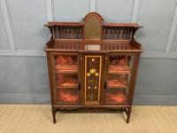 Shapland & Peter Mahogany Display Cabinet (2 of 16)