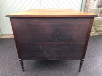 Antique Mahogany Serpentine Chest of Drawers (9 of 11)
