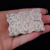 Antique silver snuff box, Deakin and Francis (4 of 12)
