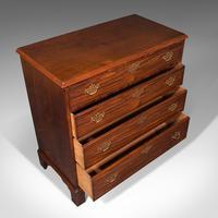 Antique Gentleman's Chest of Drawers, English, Mahogany, Bedroom, Georgian, 1800 (8 of 12)