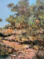 Francois Badenhorst S.A - South African Bush Landscape Oil Painting (7 of 12)