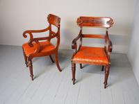 Pair of George IV Mahogany Armchairs (2 of 9)