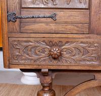 Carved Oak Sideboard Cupboard (3 of 13)