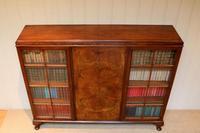 Burr Walnut Bookcase by Heals (5 of 11)