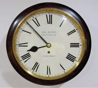 """Superb 12"""" English Fusee Dial Timepiece by Solomon Henry 1840"""