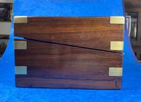 Victorian Brassbound Rosewood Writing Slope (7 of 20)