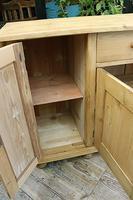 Big! Old 2m Pine Dresser Base / Sideboard / Cupboard / TV Stand - We Deliver! (10 of 13)