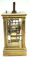 Fine French Repeat Carriage Clock with Foliate Carved Decoration By Charles Frodsham London (4 of 12)