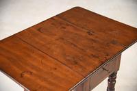Antique Mahogany Drop Leaf Table (2 of 12)