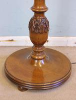 Antique Walnut Standard Lamp (3 of 6)