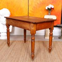 Desk Writing Table Victorian Pine (9 of 9)