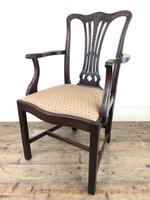 Pair of 19th Century Chippendale Style Armchairs (10 of 11)
