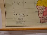 "Large University Chart ""Physical Map of Africa"" by Bacon (2 of 11)"