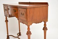 Antique Burr Walnut  Server / Side Table (6 of 11)