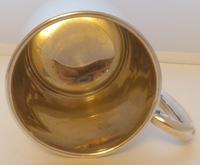 Viners 1960 Half 1/2 Pint Hallmarked Solid Silver Tankard Christening Mug 194g (5 of 10)