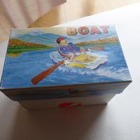 Vintage Tin Plate Wind Up  Boat (10 of 10)
