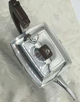 Superb Indian Art Deco Sterling Silver Tea Set Bartons Bangalore Heavy Gauge (8 of 8)