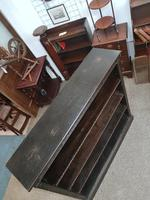 Antique Open Front Bookcase (3 of 6)