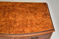 Georgian Style Burr Walnut Chest of Drawers (11 of 12)