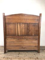 Victorian Carved Oak Settle or Hall Bench (6 of 16)
