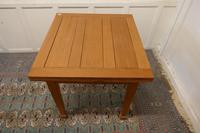 Blonde Mahogany Cottage Draw Leaf Table (3 of 8)