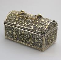 A Novelty Jewellery Box Armada Treasure Chest 20thc (4 of 8)