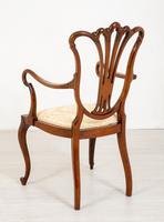 Pretty Mahogany Open Carver Chair (5 of 8)
