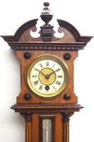 Antique combination HAC 8 Day Wall Clock Clock displays clock, barometer and thermometer (10 of 10)