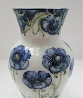 William Moorcroft, Macintyre Florian Ware Blue Poppy c.1900 (6 of 11)