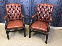 Gainsborough Style Desk Chairs c.1930 (2 of 11)
