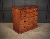 Victorian Mahogany Chest of Drawers (3 of 8)