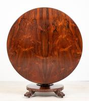 William IV Rosewood Flip Top Centre Table (9 of 9)