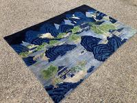 Vintage Chinese Pao-tao Landscape Rug 1.70m x 2.51m (8 of 12)