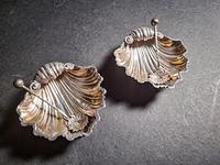 Cased Pair of Victorian Silver Salts (2 of 5)