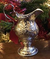 Ornate Silver Cream Jug, Charles Chesterman c1780 (3 of 5)